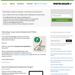 Blogging Tips To Help You Build A Better Blog | MintBlogger