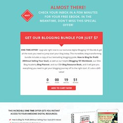 Blogging Bundle Upgrade