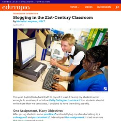 Blogging in the 21st-Century Classroom