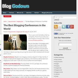The best blogging conferences in the world