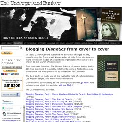Blogging Dianetics from cover to cover