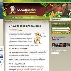 8 Keys to Blogging Success