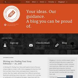 Blogging University