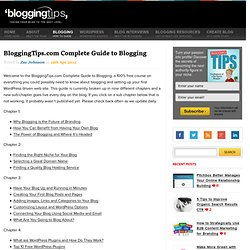 Complete Guide to Blogging
