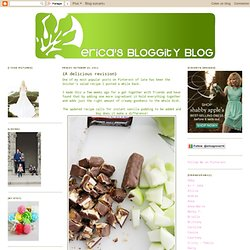 Ericas Bloggity Blog: {A delicious revision}