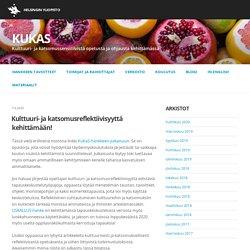 Kulttuuri- ja katsomussensitiivistä opetusta ja ohjausta kehittämässä -hankkeen blogi