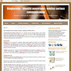 Les Français et les réseaux sociaux - étude et chiffres 2011