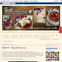 Barbi konyhája: Blogkóstoló 5. - Négy emelet mennyország