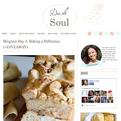 Blogmas Day 4: Baking a Difference (+GIVEAWAY)