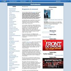 Blogobulle et anonymat