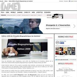 ENQUETE BLOGS / BLOGOSPHERE FRANCOPHONE 2009