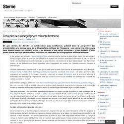 Gros plan sur la blogosphère militante bretonne. « Sterne