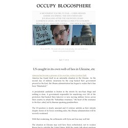 occupy blogosphere