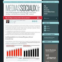 Médias sociaux > Non, les blogs ne sont pas morts, bien au contraire !