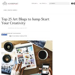 25 Best Art Blogs to Jump Start Your Creativity and Get You Inspired
