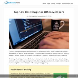 Top 100 Best Blogs for iOS Developers to Learn and Gain Insights
