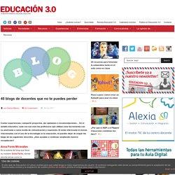 30 blogs de docentes que no te puedes perder