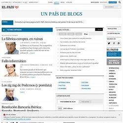 Blogs de EL PAÍS