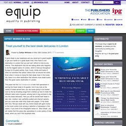 User blogs - Equip - Equality in Publishing