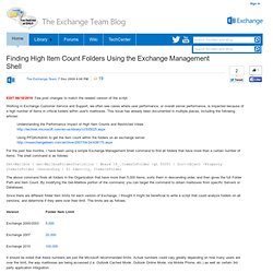 Blogs - Exchange Team Blog
