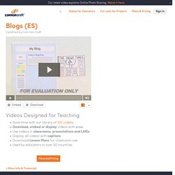 Blogs (ES) Explained by Common Craft
