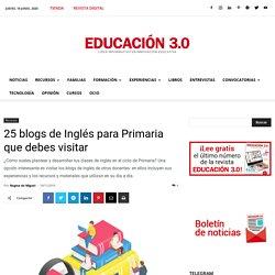 Blogs de Inglés para Primaria que debes visitar