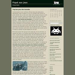 Blogs de Libération - Piqué aux jeux