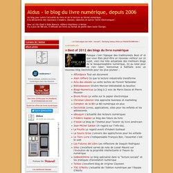 Best of 2011 des blogs du livre numérique