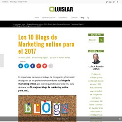 Los 10 Blogs de Marketing online para el 2017