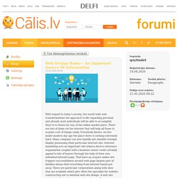 Blogs: Cālis.lv – Pirmais Latvijas Ģimenes Portāls