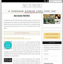 Mes blogs préférés - Blogroll sur No Tuxedo