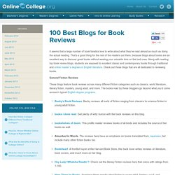 100 Best Blogs for Book Reviews
