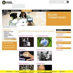 Blogs thématiques