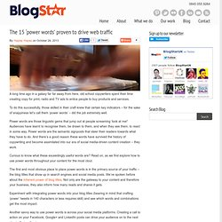 BlogStar - Content Agency London. We create shareable and engaging content for blogs and social media