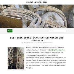 Best Blog Blogstöckchen: gefangen und gespitzt!