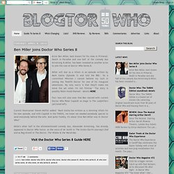 Blogtor Who