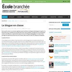 Le blogue en classe - L'École branchée