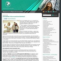 Blogue du Collège de l'immobilier du Québec