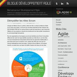 Blogue Développement Agile