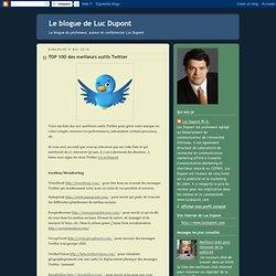 TOP 100 des meilleurs outils Twitter