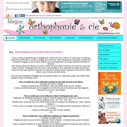 Blogue Orthophonie & Cie