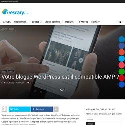 Votre blogue Wordpress est-il compatible AMP ?