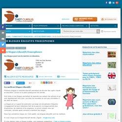 100 blogues éducatifs francophones
