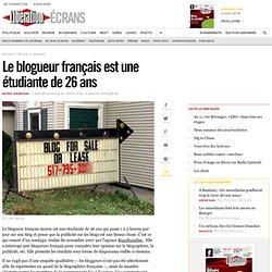 Le blogueur français est une étudiante de 26 ans