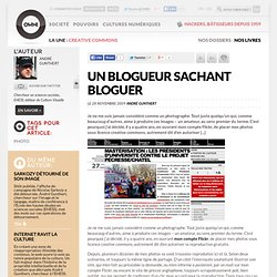 Un blogueur sachant bloguer