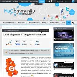 La RP blogueurs à l'usage des Bisounours