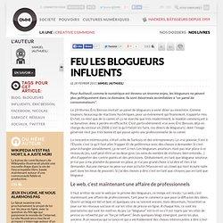 Feu les blogueurs influents » Article » OWNI, Digital Journalism