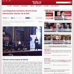 Les blogueurs tunisiens rêvent d'une démocratie directe via le Net