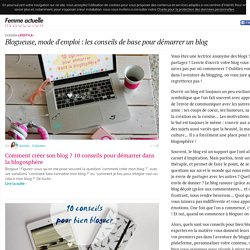 Blogueuse, mode d'emploi : les conseils de base pour démarrer un blog