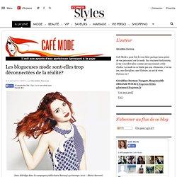 Les blogueuses mode sont-elles trop déconnectées de la réalité? | Café Mode, l'oeil d'une parisienne (presque) à la page - Lexpress Styles